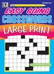 Easy Going Crosswords Large Print