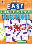 Superb Easy Large Print Crosswords
