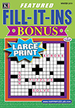 Featured Fill-It-Ins Bonus Large Print