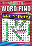 Variety Word-Find Large Print