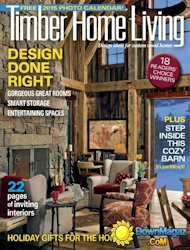 Timber Home Living Magazine Cover