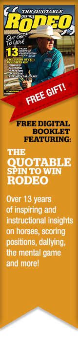 FREE GIFT - The Quotable Spin to Win Rodeo