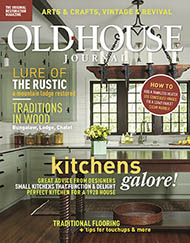 Old House Journal Magazine Cover