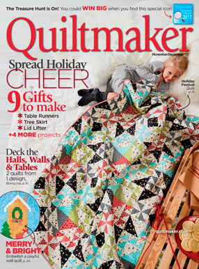 Quiltmaker Magazine Cover