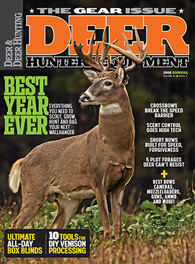 Deer & Deer Hunting Magazine Cover