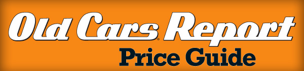 Old Cars Report Price Guide Subscription