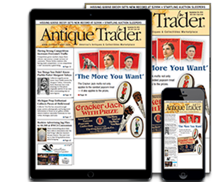 Subscribe today to Antique Trader