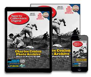 Subscribe today to Sports Collectors Digest