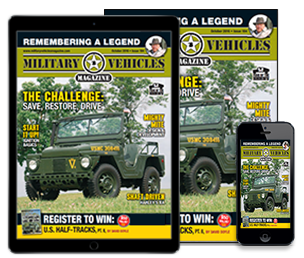 Subscribe today to Military Vehicles
