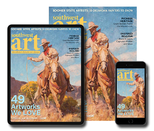 Subscribe today to Southwest Art