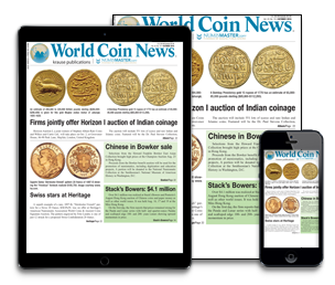 Subscribe today to World Coin News
