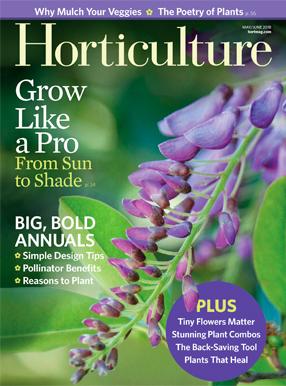 Horticulture Magazine Cover