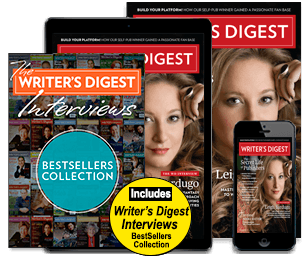Subscribe today to Writer's Digest
