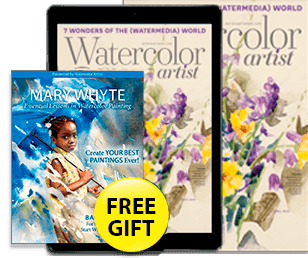 Subscribe today to Watercolor Artist