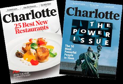 Charlotte Magazine Cover