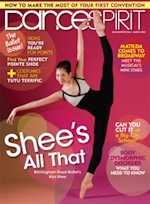 Dance Spirit Magazine Cover