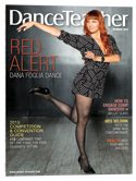 Dance Teacher Magazine Cover