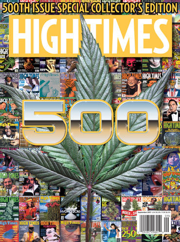 High Times Cover