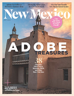 New Mexico Magazine Magazine Cover
