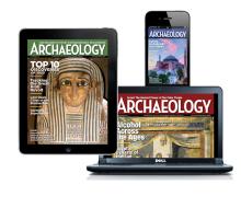 Archaeology Magazine On iPad