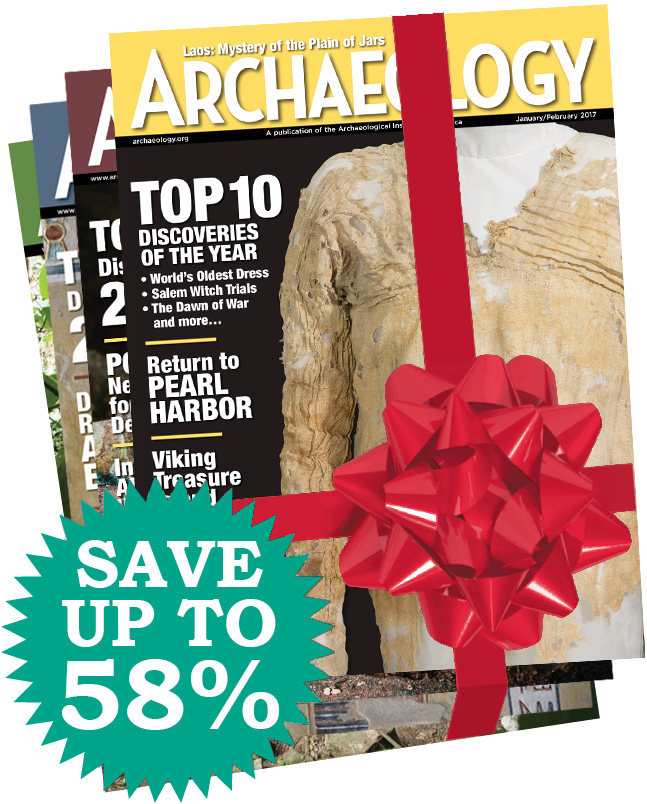 Archaeology Magazine Gift Subscription