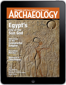 Archaeology Magazine On iPad