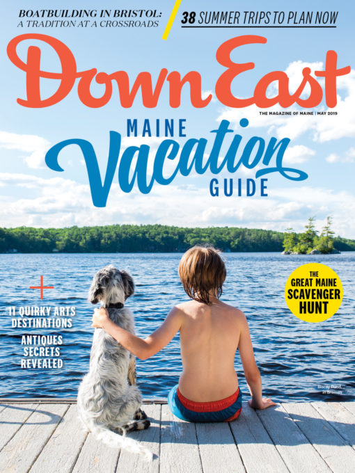 Down East Magazine Cover