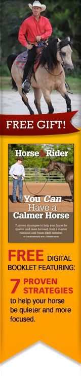 Free Digital Booklet - You can have a calmer horse