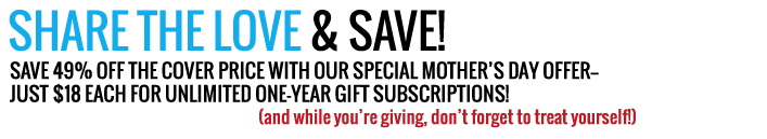Subscribe today and save up to 44 percent