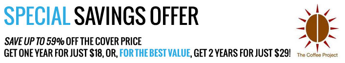 Save up to 59% off the cover price - get one year for just $18!