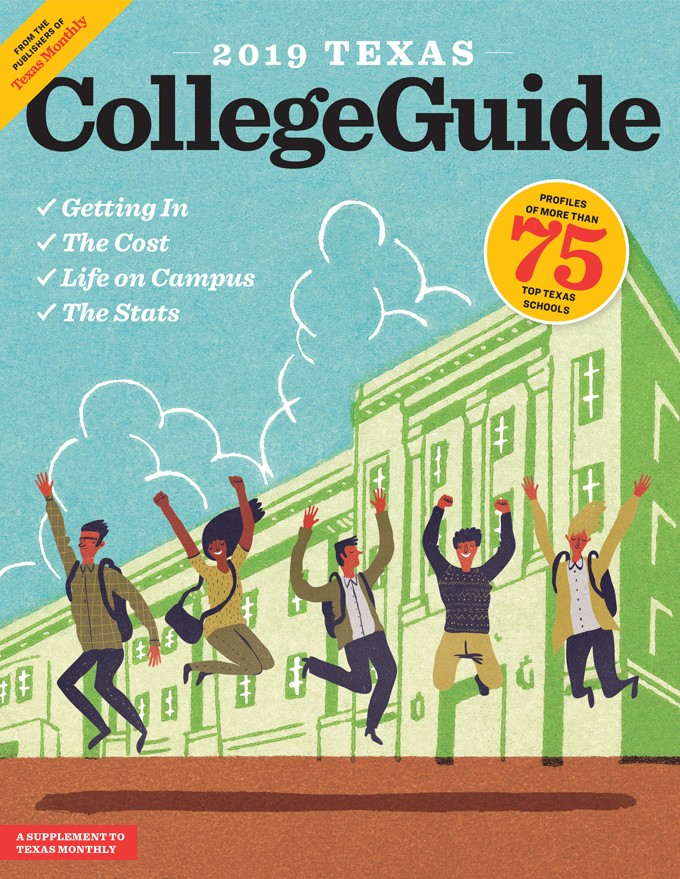 Texas College Guide Cover Image