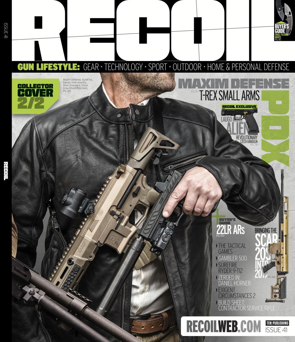 Recoil Magazine Cover