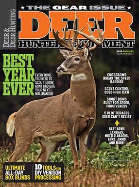 Deer & Deer Hunting Magazine Cover