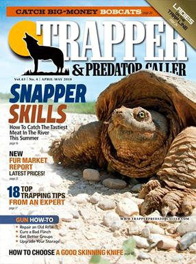 Trapper & Predator Caller Magazine Cover