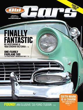Old Cars Magazine Cover