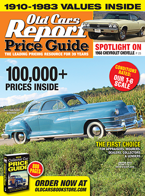 Old Cars Report Price Guide Cover