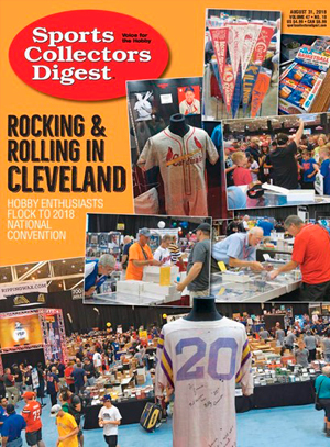 Sports Collectors Digest Cover