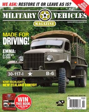 Military Vehicles Magazine Cover