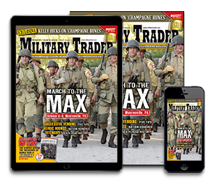 Subscribe today to Military Trader