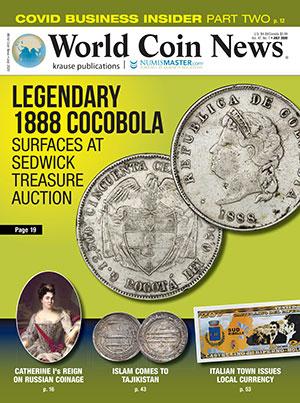World Coin News Magazine Cover