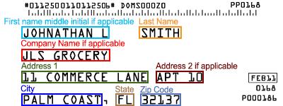 Mailing Label