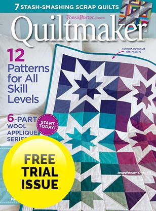 Quiltmaker Magazine Magazine Cover