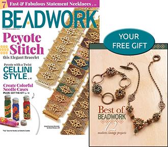 Beadwork Magazine Cover
