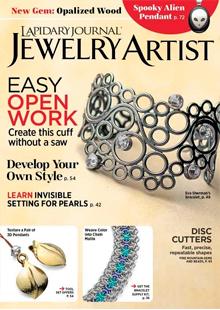 Lapidary Journal Jewelry Artist Magazine Cover