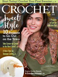 Interweave Crochet Magazine Cover