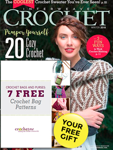 Crochet Magazine Cover