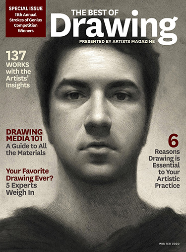 The Best of Drawing Magazine Cover