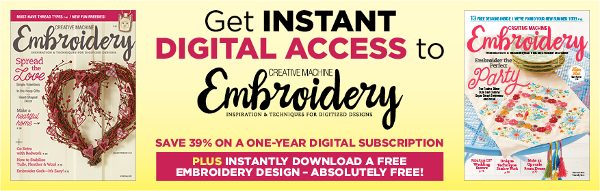 Creative Machine Embroidery Subscription