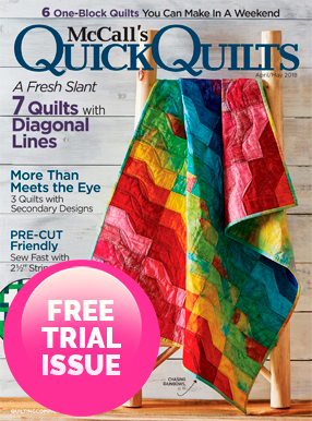 Quick Quilts Magazine Cover