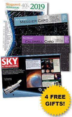 Sky & Telescope Free Gifts